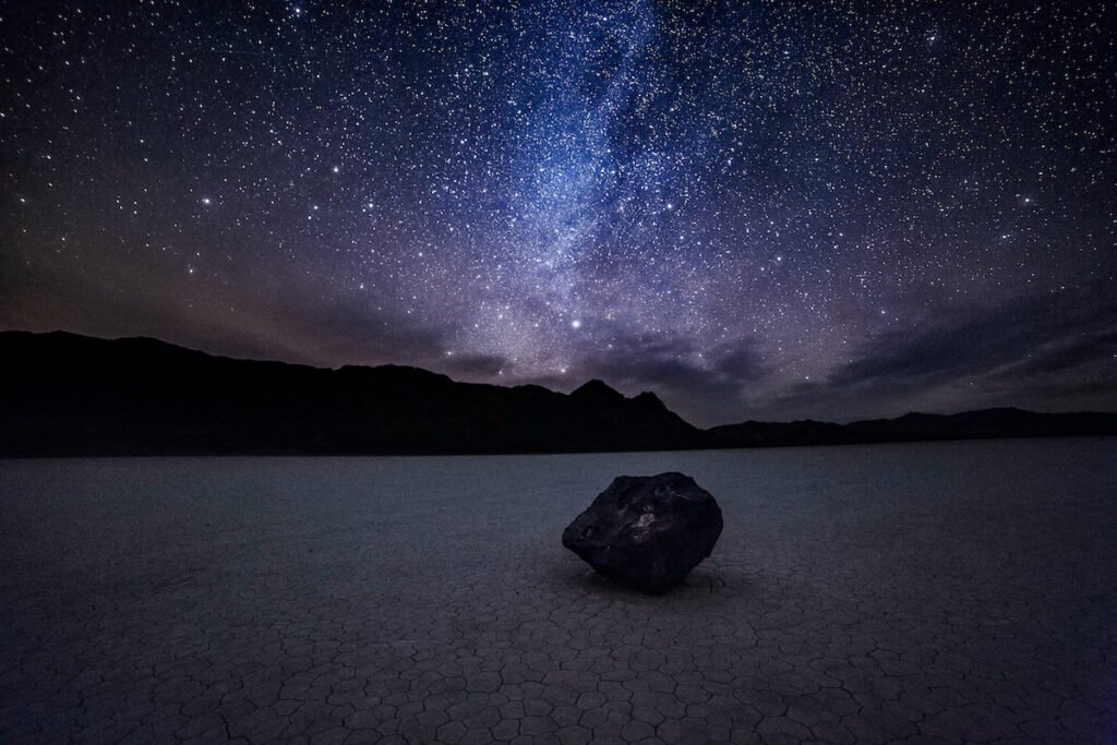 The Milky Way over Death Valley National Park.