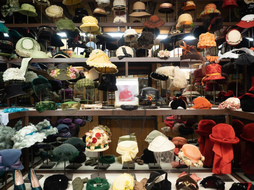 The Millinery Shop at the Range Riders Museum.