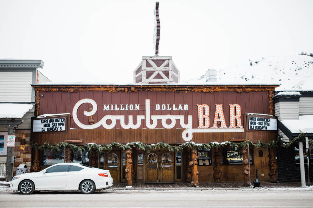 The Million Dollar Cowboy Steakhouse in Jackson Hole.