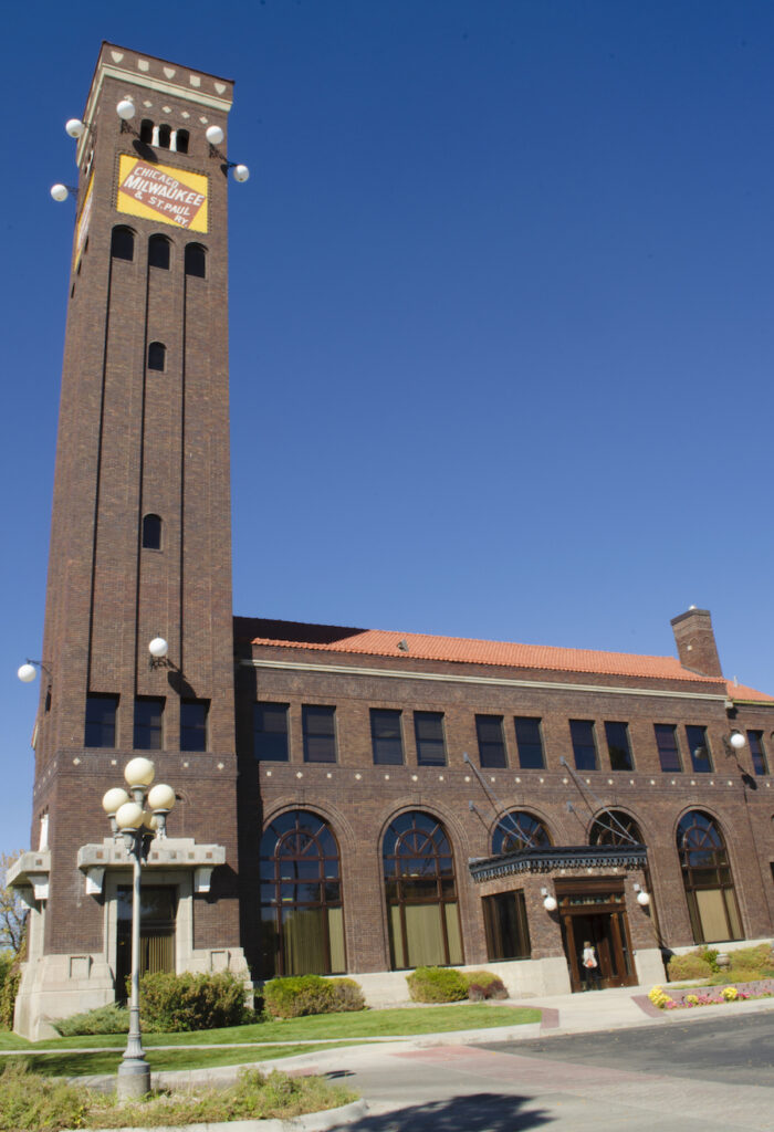 The Milwaukee Road Depot in Great Falls, Montana.