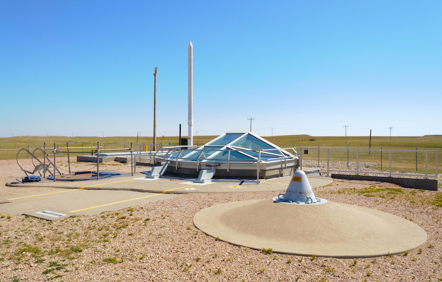 The Minuteman Missile National Historic Site in South Dakota.