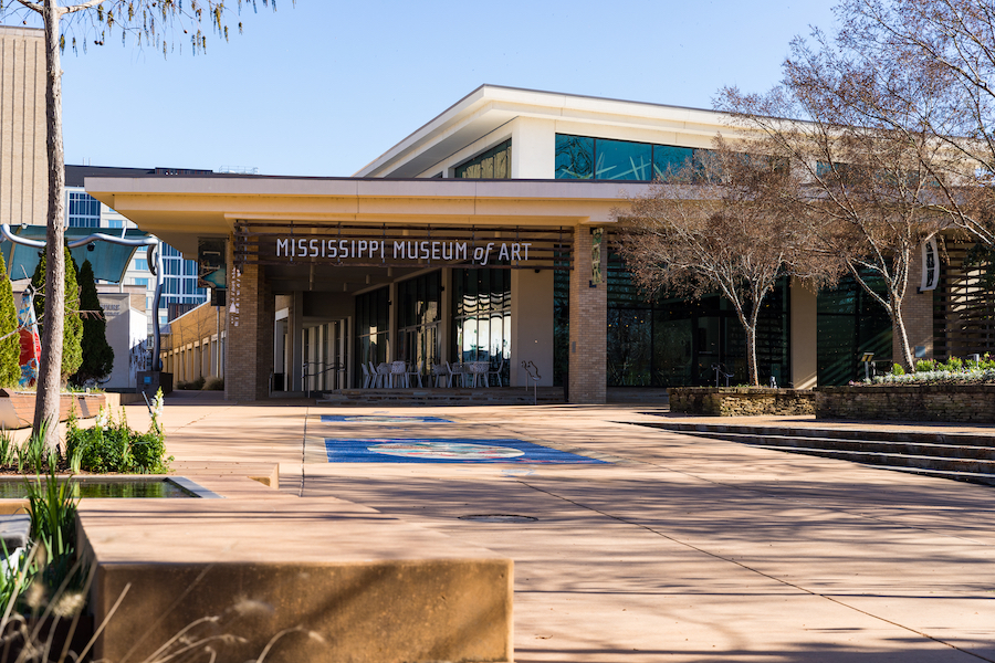 The Mississippi Museum of Art in Jackson.