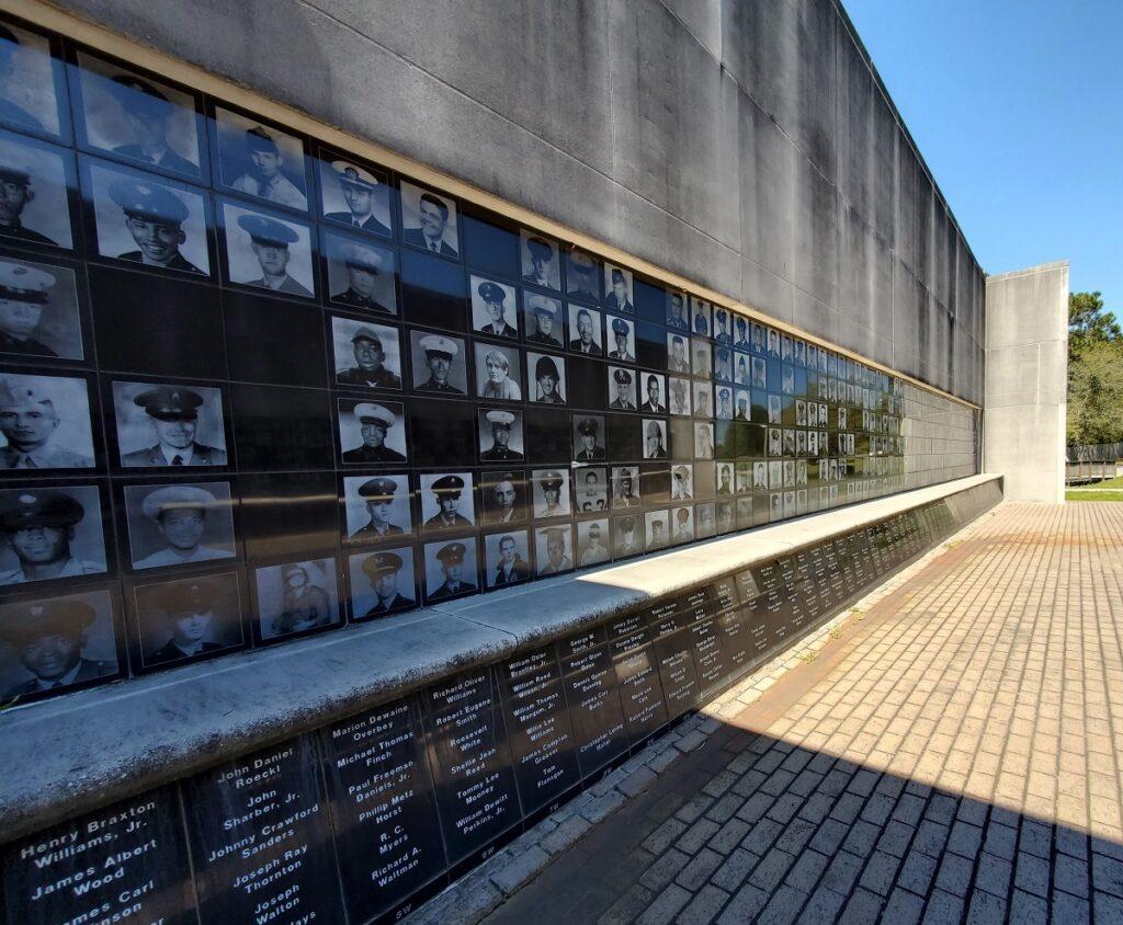 The Mississippi Vietnam Veterans' Memorial.