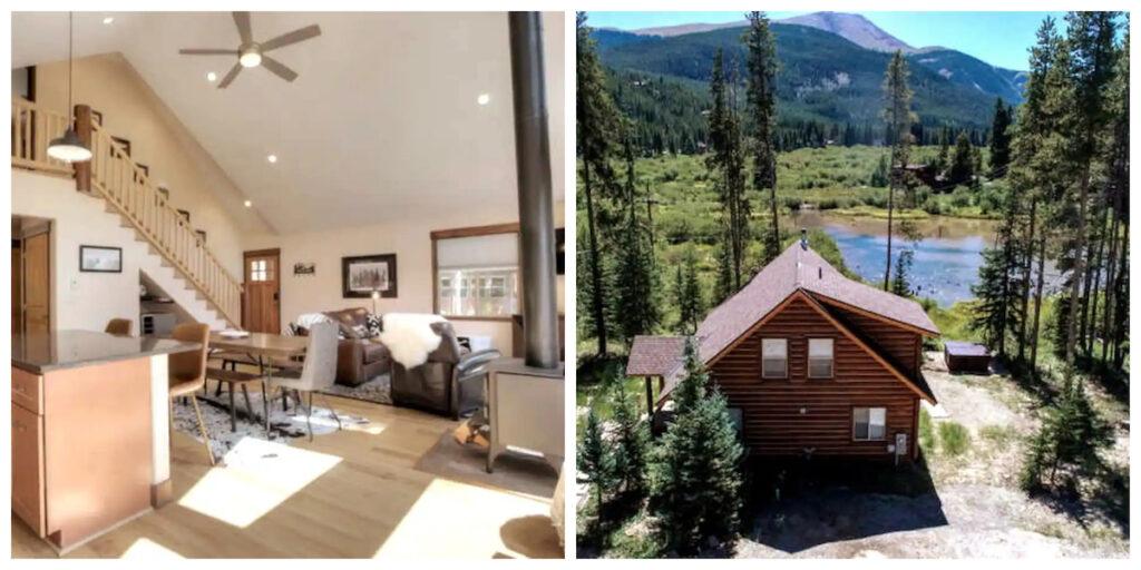 The Modern Cabin, a rental in Breckenridge, Colorado.