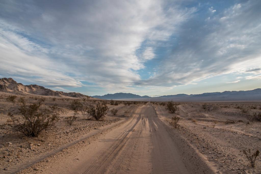 The Mojave Road in California.