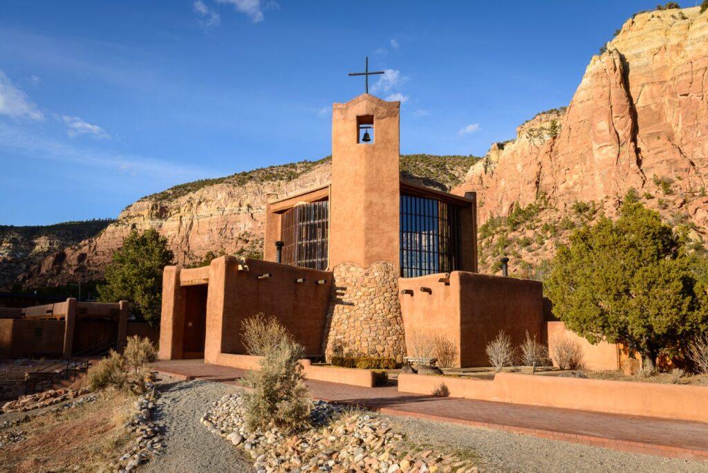 The Monastery of Christ in the Desert.