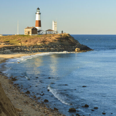 The Montauk Lighthouse in New York.