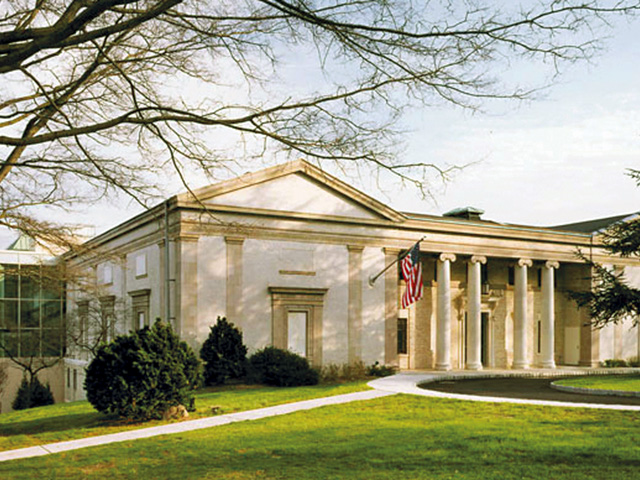 The Montclair Art Museum in New Jersey.