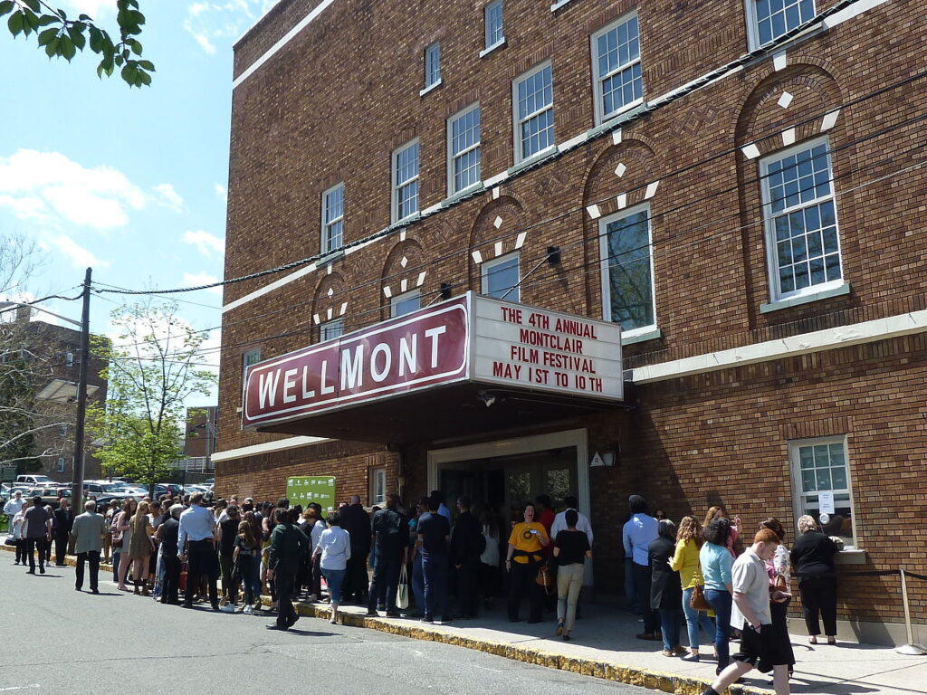 The Montclair Film Festival at the Wellmont Theater.
