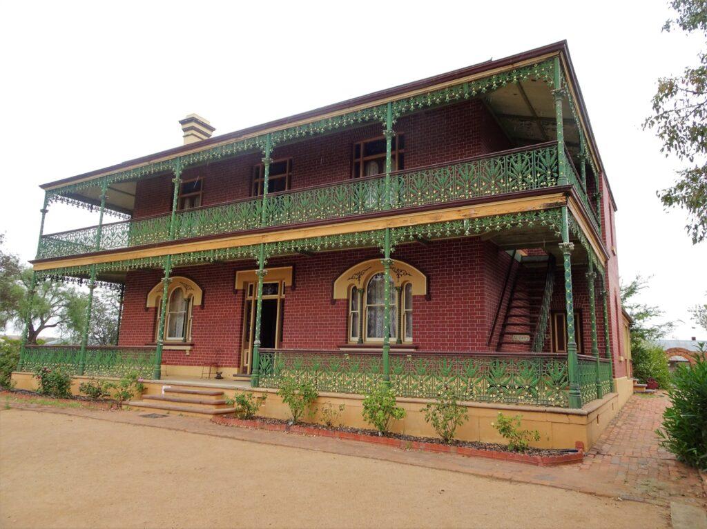 The Monte Cristo Homestead in Australia.