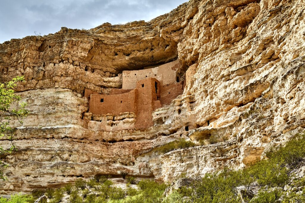 The Montezuma Castle National Monument in Arizona.