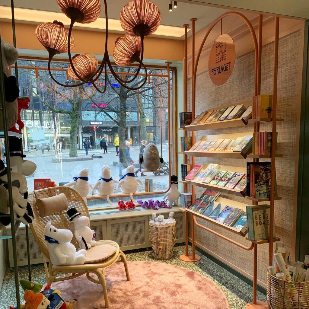 The Moomin store in Helsinki.