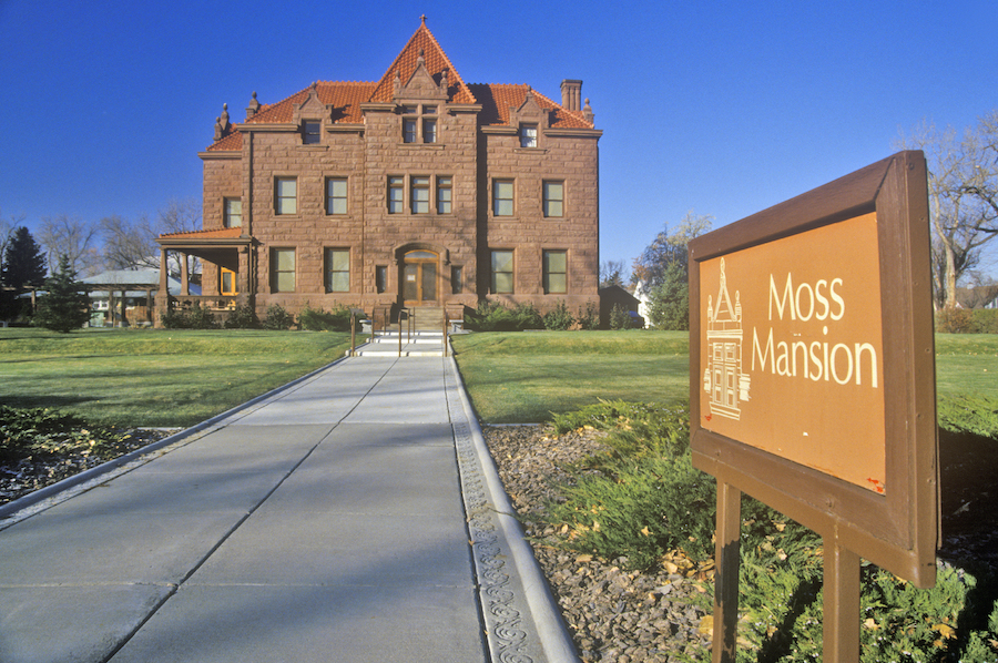 The Moss Mansion in Billings, Montana.