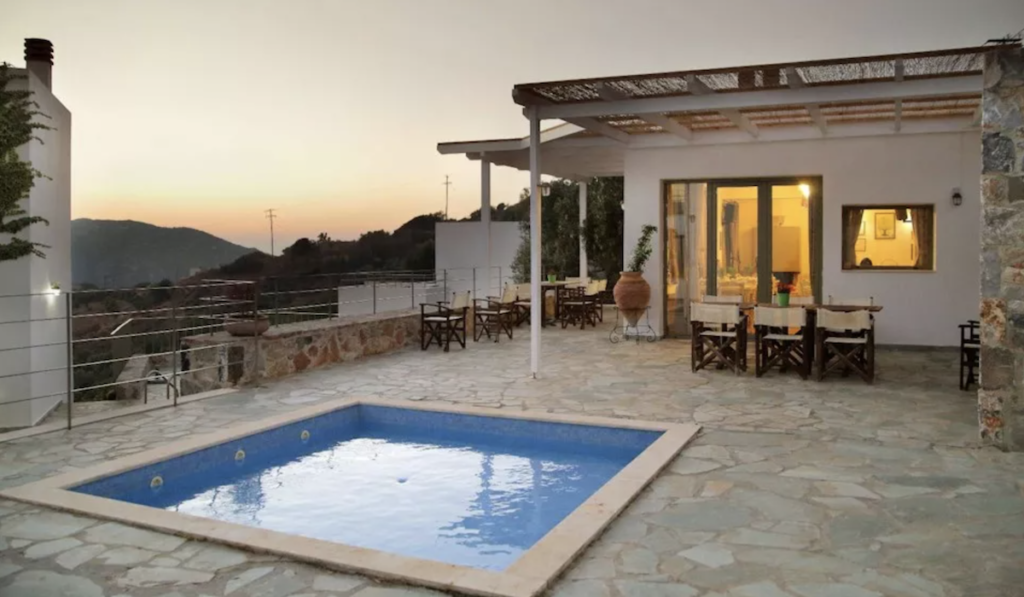 The Mourzanakis Residence in Crete.