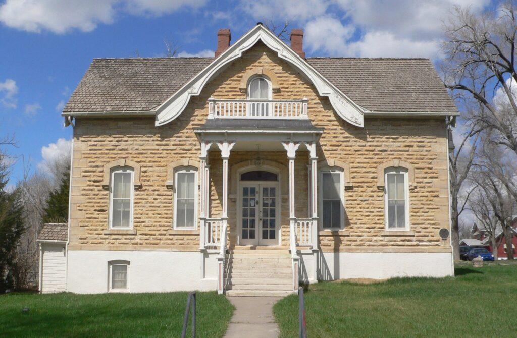The Mueller-Schmidt House in Dodge City.