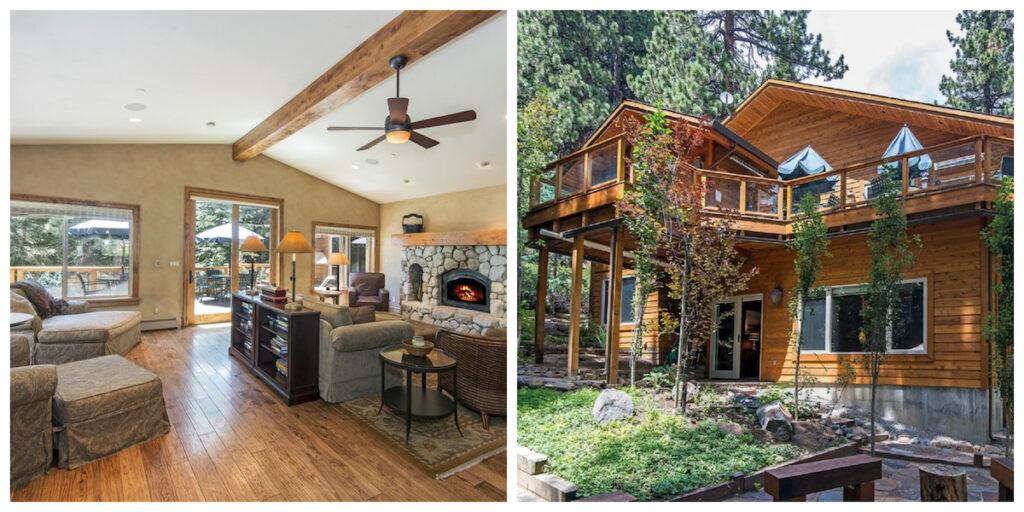 The Multi-Family Home cabin rental in Nevada.