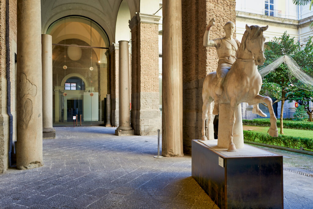 The Museo Archeologico Nazionale in Naples.