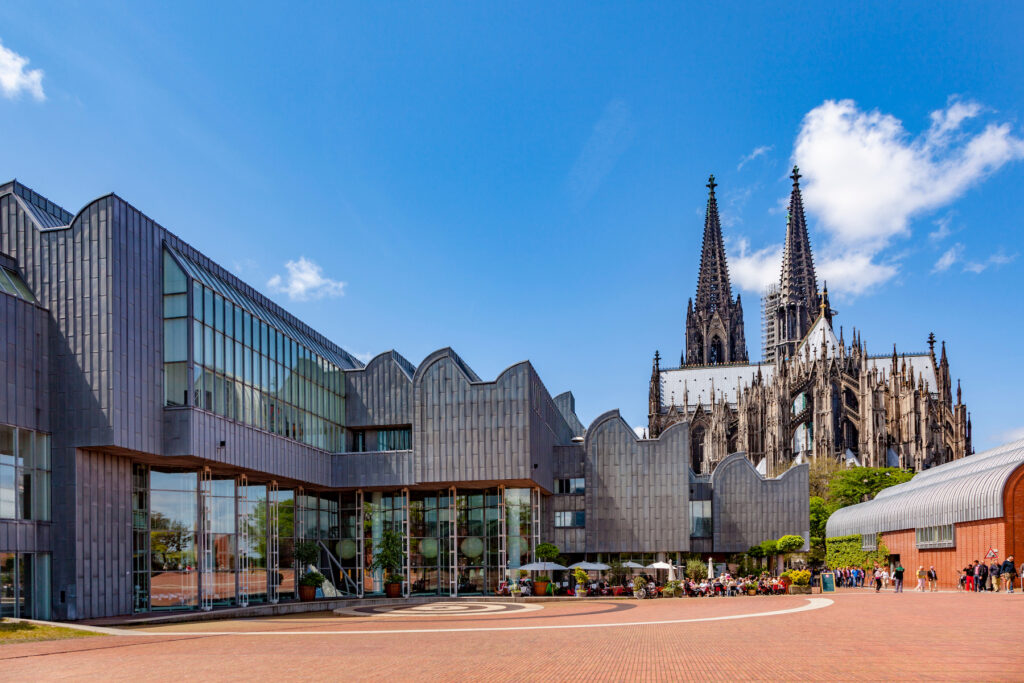 The Museum Ludwig in Cologne, Germany.