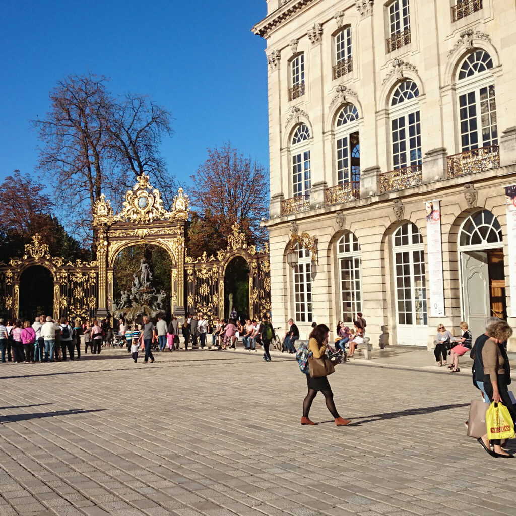 The Museum of Fine Arts in Nancy, France.