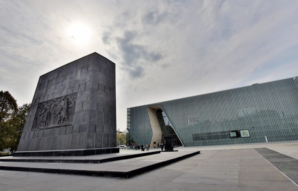 The Museum of the History of Polish Jews.