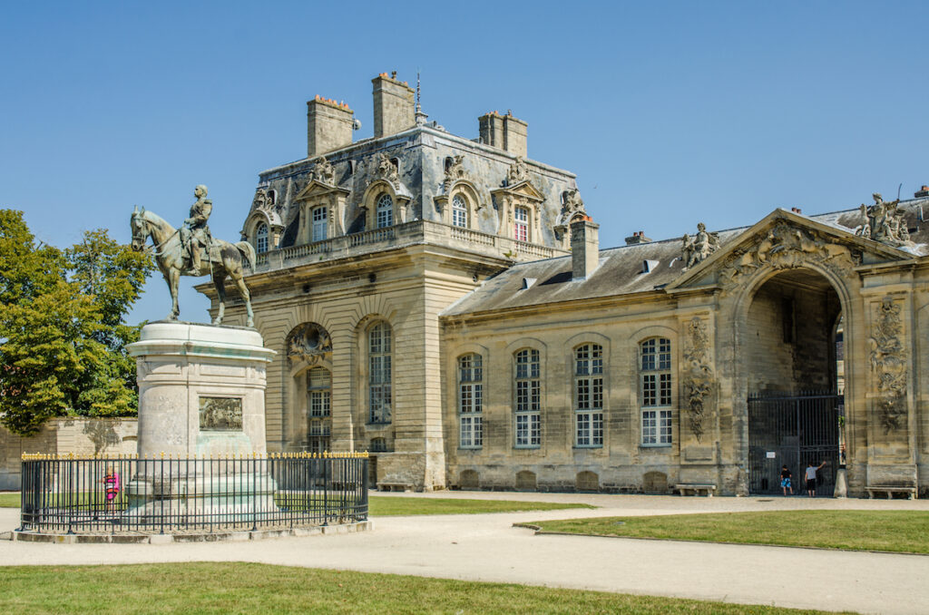 The Museum of the Horse at the Chateau de Chantilly.