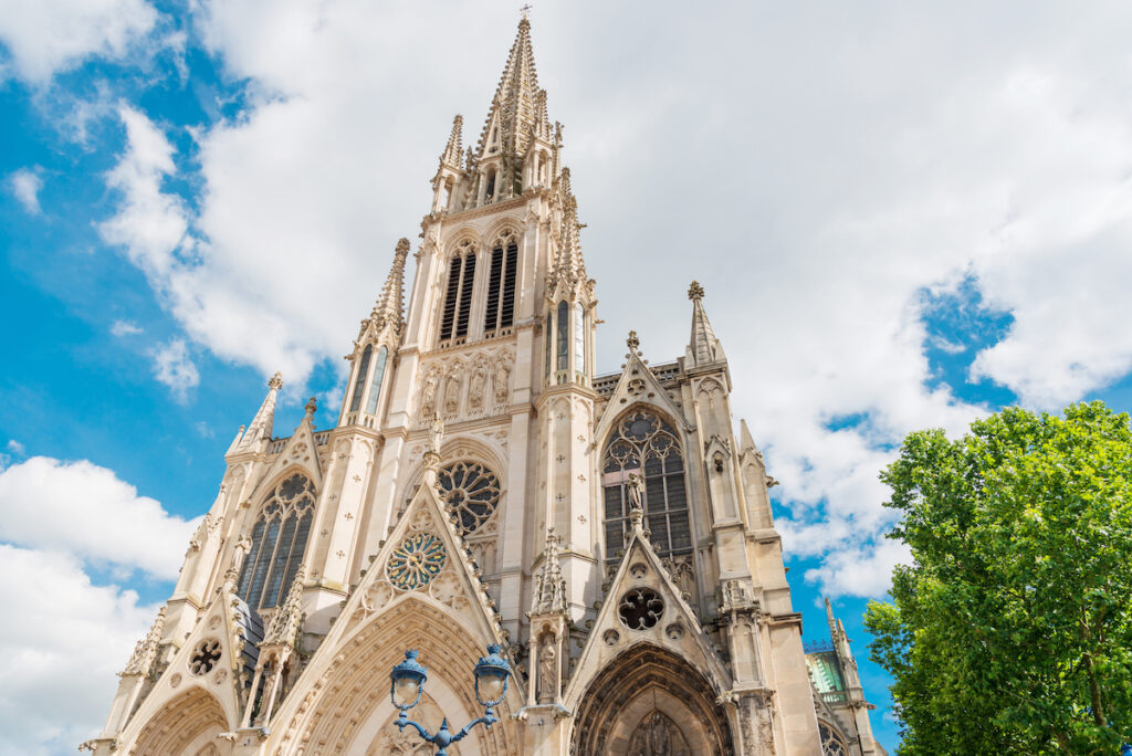 The Nancy Cathedral in France.