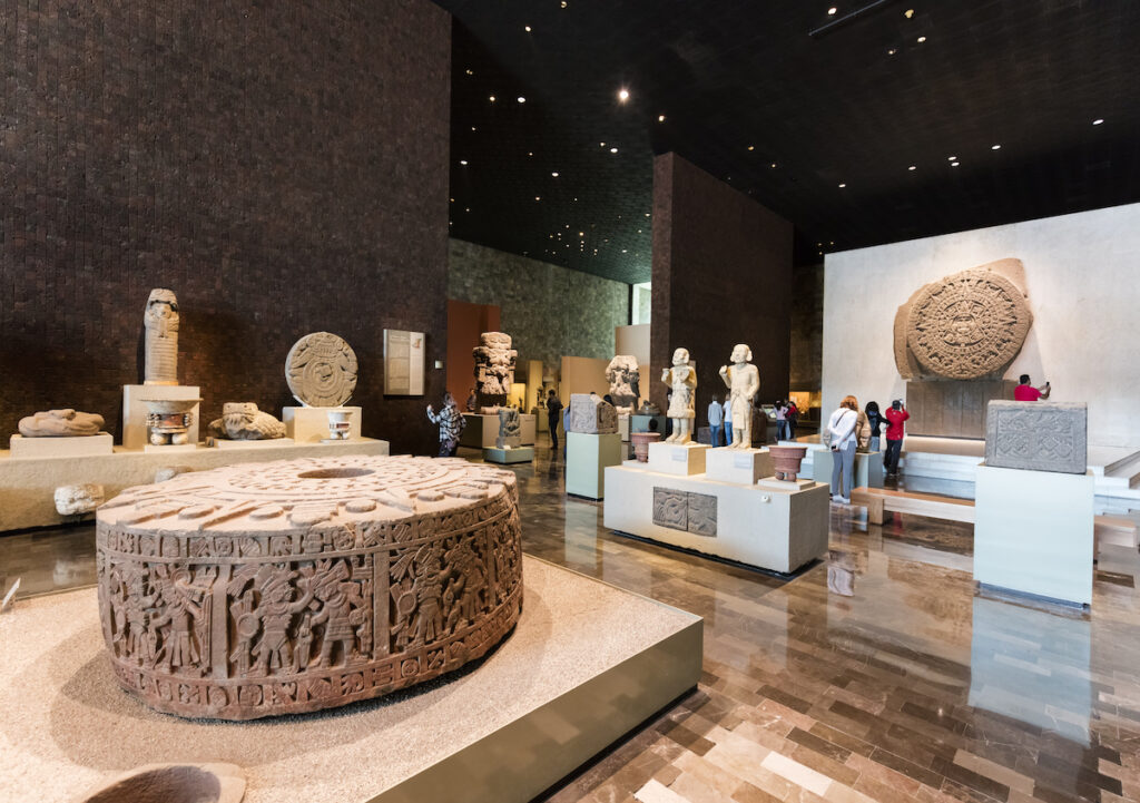 The National Anthropology Museum in Mexico City.