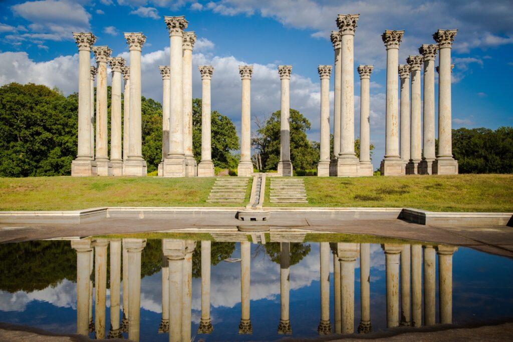 The National Arboretum in Washington, D.C.