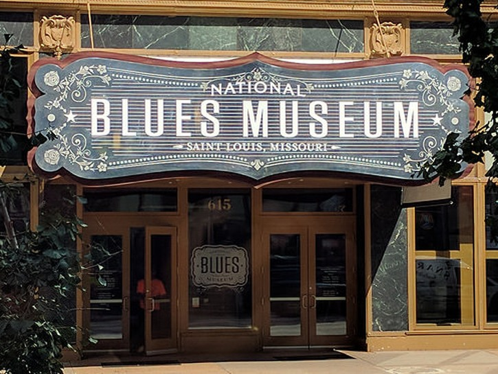 The National Blues Museum in St. Louis.