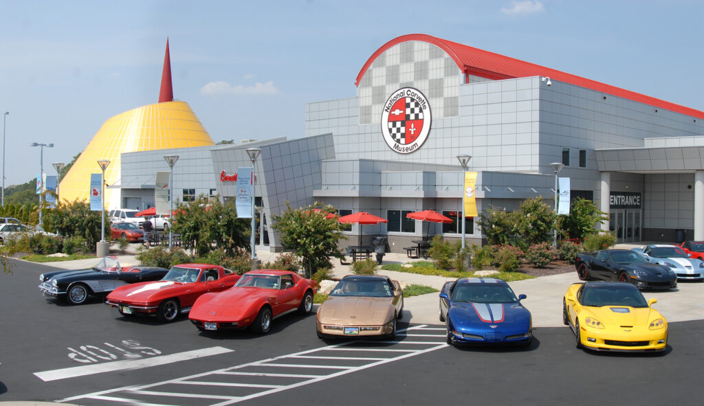 The National Corvette Museum in Bowling Green.