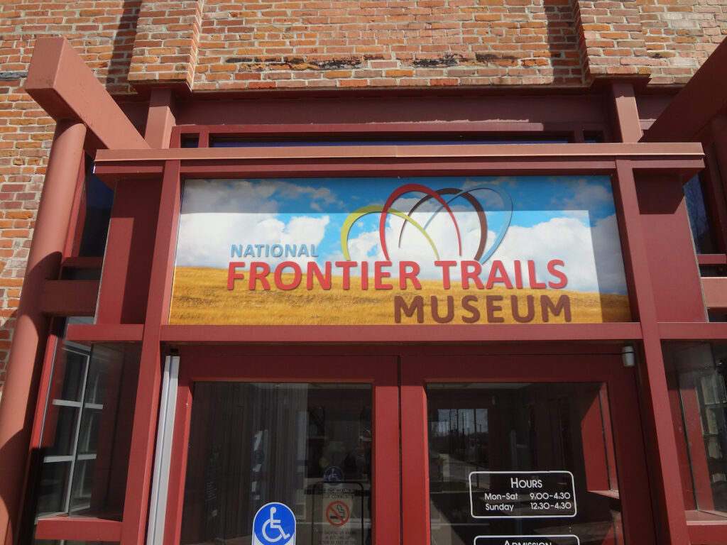 The National Frontier Trails Museum in Independence, Missouri.