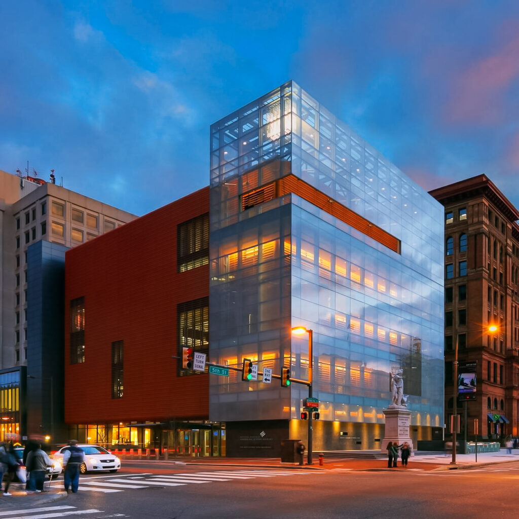 The National Museum Of American Jewish History in Philadelphia
