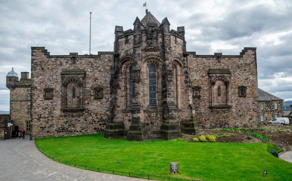 The National War Museum at Edinburgh Castle in Scotland.