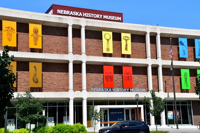 The Nebraska History Museum in Lincoln.