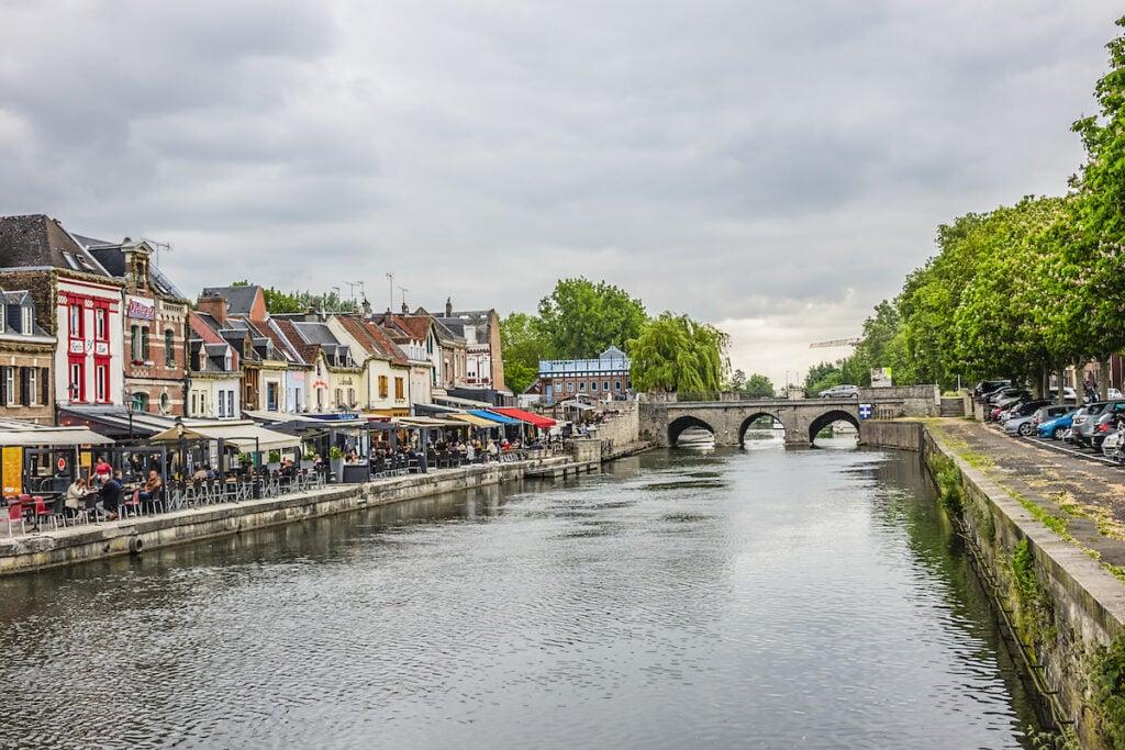 The neighborhood of Saint-Leu in Amiens, France.