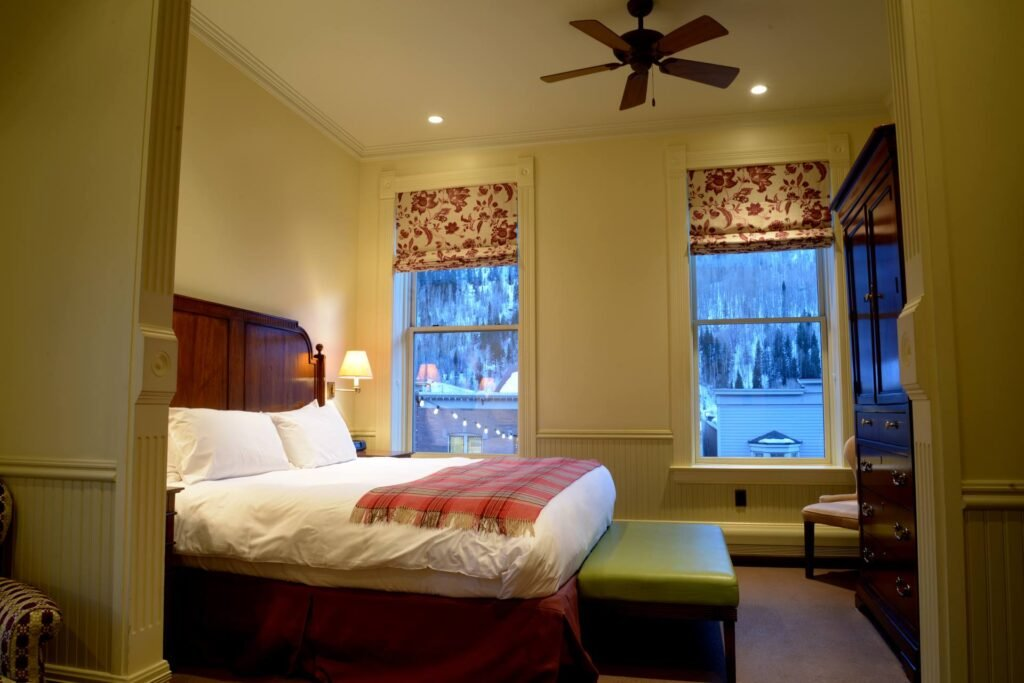 The New Sheridan Hotel in Telluride.