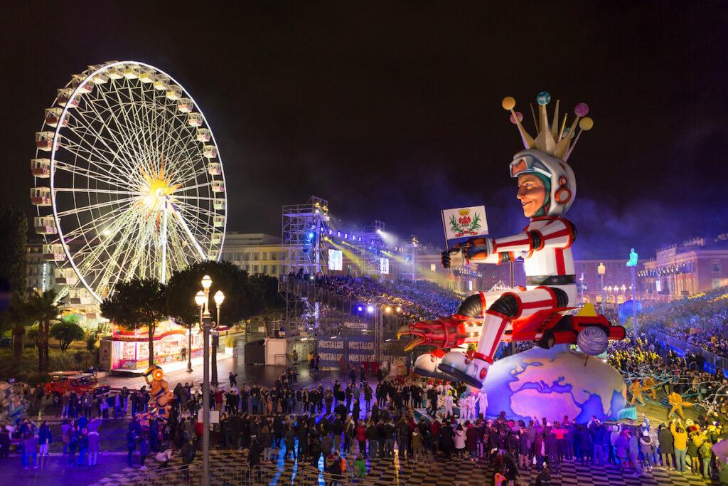 The Nice Carnival in France.