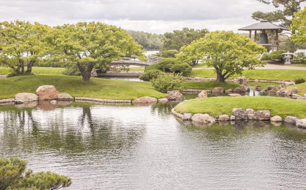 The Nikka Yuko Japanese Garden in Lethbridge.