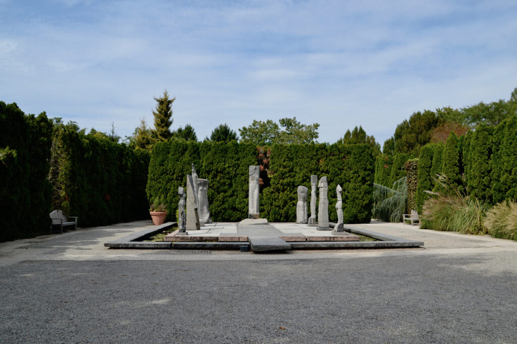 The Nine Muses by Carlos Dorrien at Grounds For Sculpture.