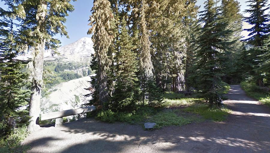The Nisqually Vista Trail at Mount Rainier National Park.