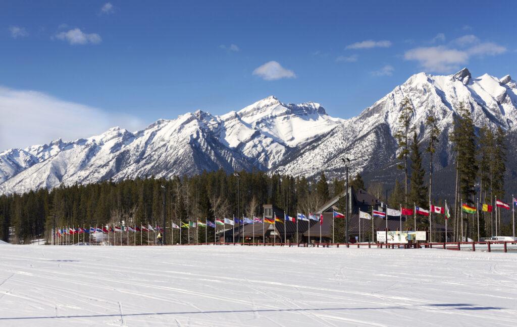 The Nordic Centre in Canmore, Alberta.