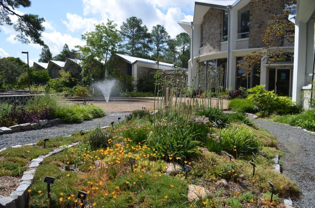 The Norfolk Botanical Garden in Virginia.