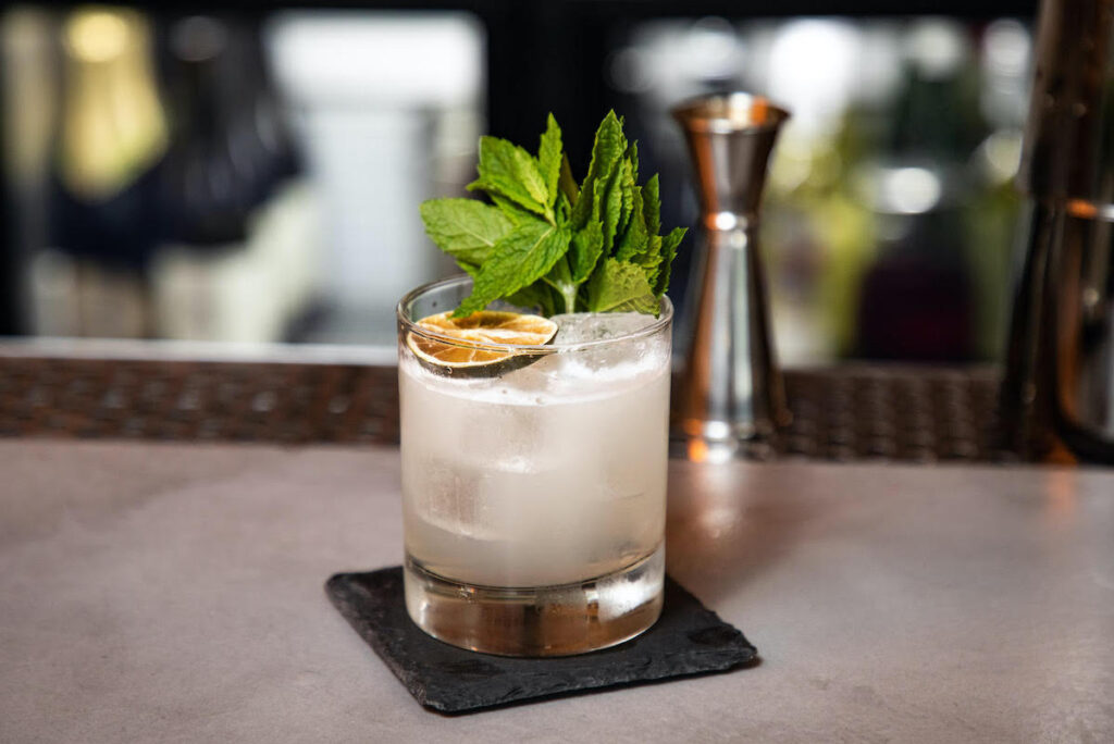 The Norfolk Seadog cocktail from Gyre and Gimble.
