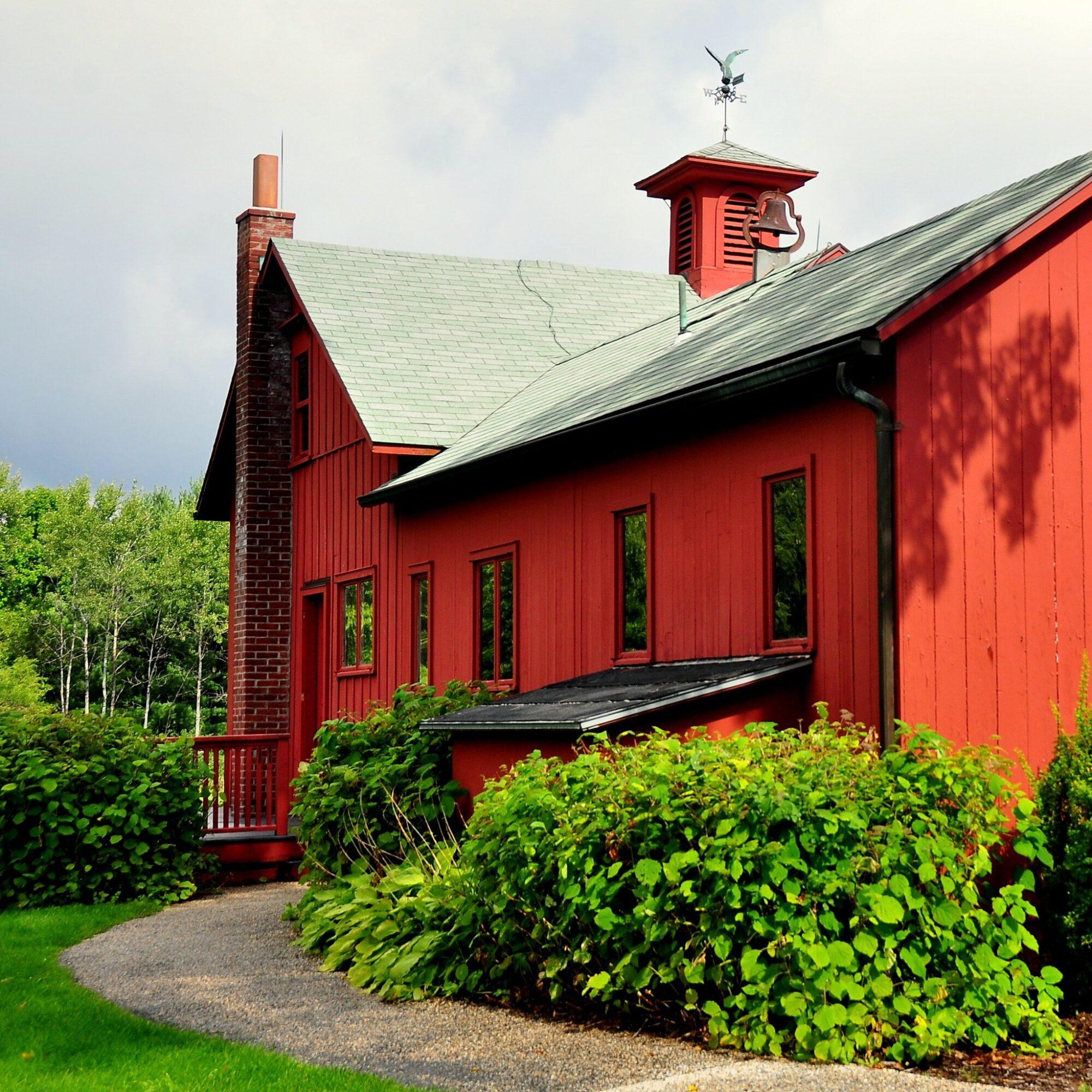 The Normal Rockwell Museum in Stockbridge, Massachusetts.