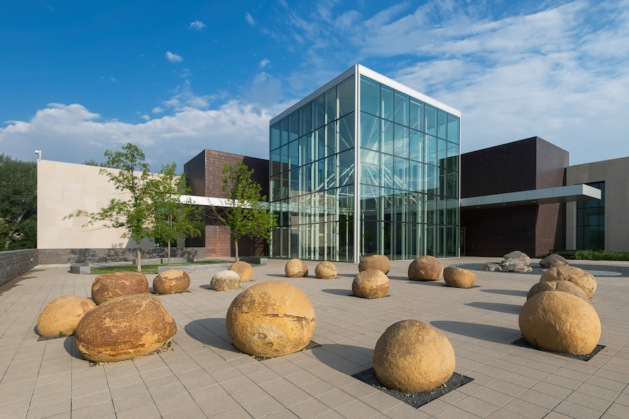 The North Dakota Heritage Center and State Museum in Bismarck.