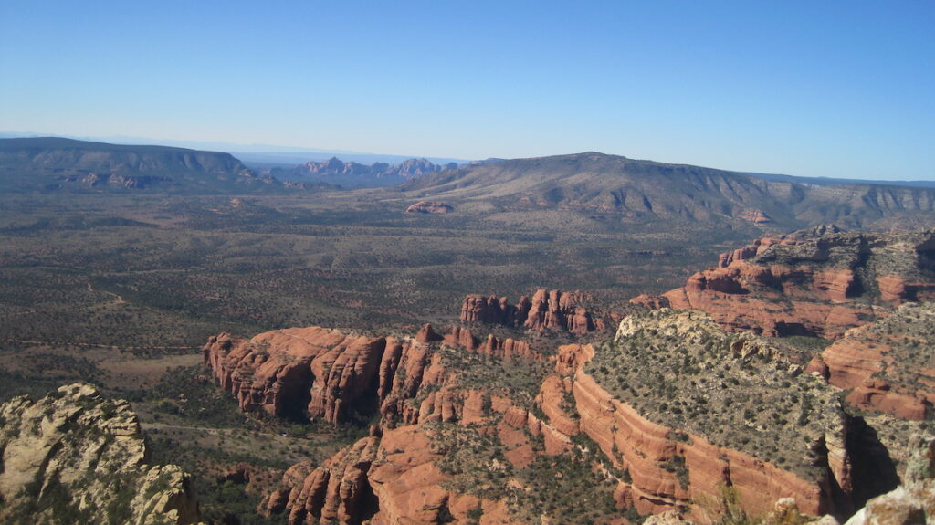 The North Rim of the Grand Canyon in Utah.