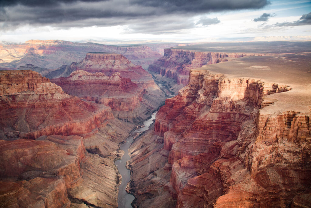 The North Rim of the Grand Canyon in Arizona.