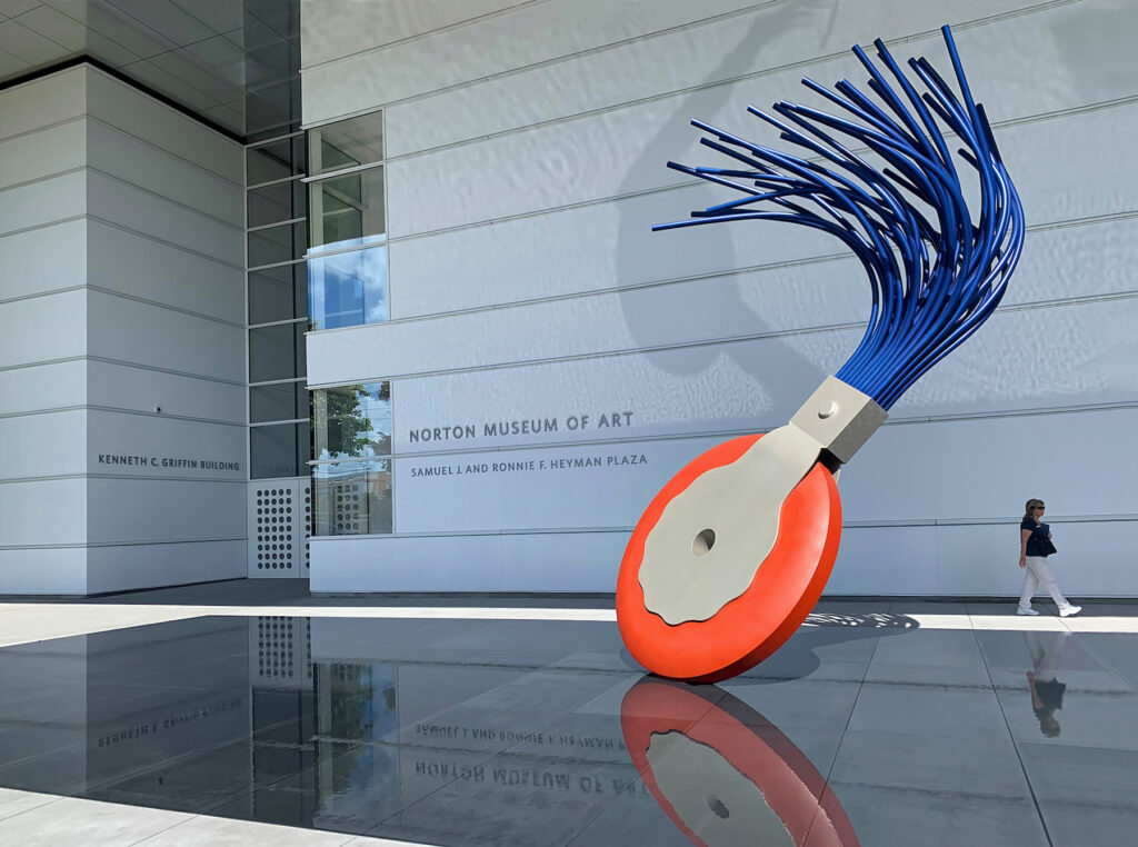 The Norton Museum of Art in West Palm Beach.