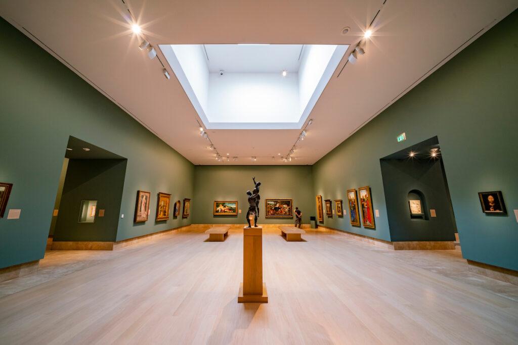 The Norton Simon Museum in Pasadena, California.