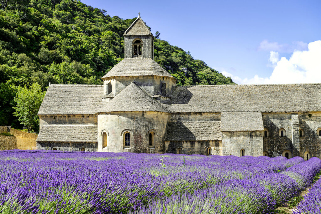 The Notre-Dame of Senanque Abbey in France.